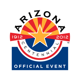 Official Arizona Centennial 1912-2012 Event logo
